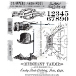 Stampers Anonymous - Tim Holtz - Dapper Stamps