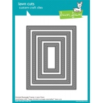 Lawn Fawn - Lawn Cuts - Stitched Rectangle Frames Dies
