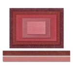 Sizzix - Tim Holtz Alterations - Thinlits - Stitched Rectangles Die Set