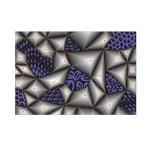 Sizzix - 3-D Textured Impressions Embossing Folder - Jumbled Triangles by Katelyn Lizardi