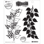 Ranger - Dyan Reaveley - Dylusions - Cling Stamps - Branching Out