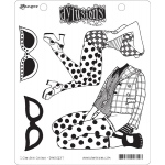 Ranger - Dyan Reaveley - Dylusions - Cling Stamps - I Can See Clearly