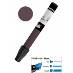 Chartpak® AD™ Art Marker Warm Gray #8: Black/Gray, Xylene-Based, Tri-Nib, (model AP198), price per each