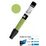 Chartpak® AD™ Art Marker Olive; Color: Green; Ink Type: Xylene-Based; Tip Type: Tri-Nib; (model AP31), price per each