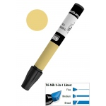 Chartpak® AD™ Art Marker Pale Olive; Color: Green; Ink Type: Xylene-Based; Tip Type: Tri-Nib; (model AP34), price per each
