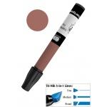 Chartpak® AD™ Art Marker Delta Brown; Color: Brown; Ink Type: Xylene-Based; Tip Type: Tri-Nib; (model AP57), price per each
