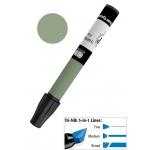 Chartpak® AD™ Art Marker Dark Olive; Color: Green; Ink Type: Xylene-Based; Tip Type: Tri-Nib; (model AP24/BX), price per box