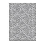 Spellbinders - Texture Plate - Art Deco - Deco Steptastic