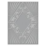 Spellbinders - Texture Plate - Art Deco - Sanctuary