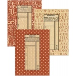 Graphic 45 - Staples - Policy Envelopes - ATC Red