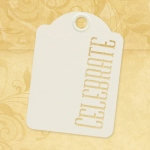 Graphic 45 - Staples - Celebrate - ATC Ivory Tags