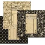 Graphic 45 - Staples - Policy Envelopes - Square Black