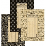 Graphic 45 - Staples - Policy Envelopes - Regular Black