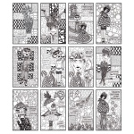 Ranger - Dyan Reaveley - Dylusions Coloring Sheets - 5in x 8in