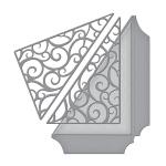 Spellbinders - Shapeabilities - Wedding Collection - Becca Feeken - Filigree Side Pocket
