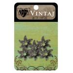 Vintaj Bead Cap: Fairy Petals