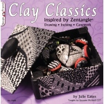 Design Originals Zentangle Books: Clay Classics