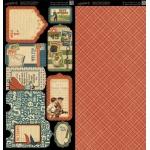 Graphic 45 Good Ol Sport Tags & Pockets