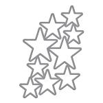 Spellbinders - Shapeabilities - Donna Salazar - Cascading Stars