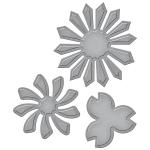 Spellbinders - Shapeabilities - Tammy Tutterow - Pinwheel Posies