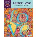 Design Originals - Hello Angel - Letter Love Coloring Book