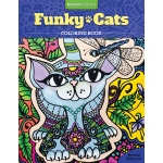 Design Originals - Funky Cats Coloring Book