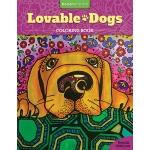 Design Originals - Lovable Dogs Coloring Book