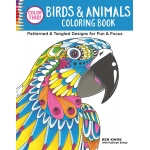 Design Originals - Color This!  Birds & Animals Coloring Book