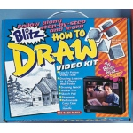 Bruce Blitz How to Draw Set - with 1 Hour DVD