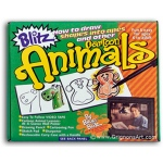 Bruce Blitz Cartoon Animals Set - with 1 Hour DVD