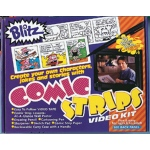 Bruce Blitz VHS Comic Strips Set - with 1 Hour DVD