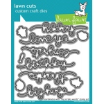 Lawn Fawn - Lawn Cuts - Big Scripty Words Dies