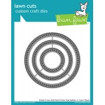 Lawn Fawn - Lawn Cuts - Small Cross Stitched Circle Stackables Dies