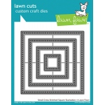 Lawn Fawn - Lawn Cuts - Small Cross Stitched Square Stackables Dies
