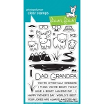 Lawn Fawn - Stamps - Dad + Me Stamp Set