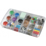 "ArtBin Prism Box: 18 Compartment, Transparent , 11.5"" x 6.625"" x 1.75"""