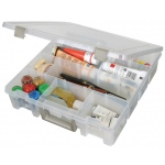 "ArtBin Super Satchel with Removable Dividers: Translucent, 15.25"" x 14"" x 3.5"""