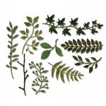 Sizzix - Tim Holtz Alterations - Thinlits - Garden Greens 9 Pack Die Set