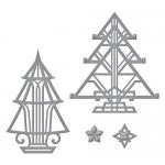 Spellbinders - Stacey Caron - Shapeabilities - Art Deco Trees Die