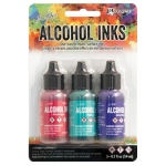 Ranger - Tim Holtz - Alcohol Ink Kit - Beach Deco