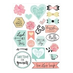 Sizzix - Stickers - Planner Page Icons by Katelyn Lizardi