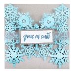 Sizzix - Thinlits Die - Snowflake Card by Sharyn Sowell
