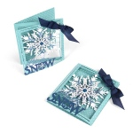 Sizzix - Thinlits Die Set - 8 Pack - Tri-fold Card - Snowflake by Lindsey Serata