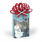 Sizzix - Bigz XL Die - Box - Wrapped with Ornaments by Lindsey Serata