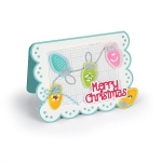 Sizzix - Framelits Die Set - 23 Pack w/Stamps - Mini Lights by Stephanie Barnard