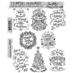 Stampers Anonymous - Tim Holtz - Mini Doodle Greetings Stamps