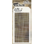 Stampers Anonymous - Tim Holtz - Linen Stencil