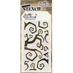 Stampers Anonymous - Tim Holtz - Twisted Stencil