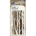 Stampers Anonymous - Tim Holtz - Birch Stencil