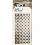 Stampers Anonymous - Tim Holtz - Nordic Stencil